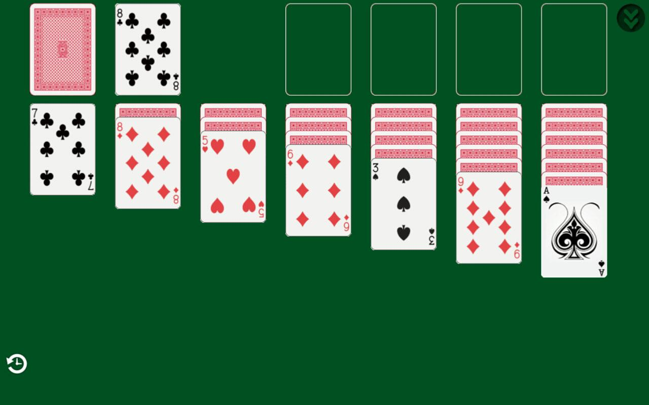 classic solitaire card game online free