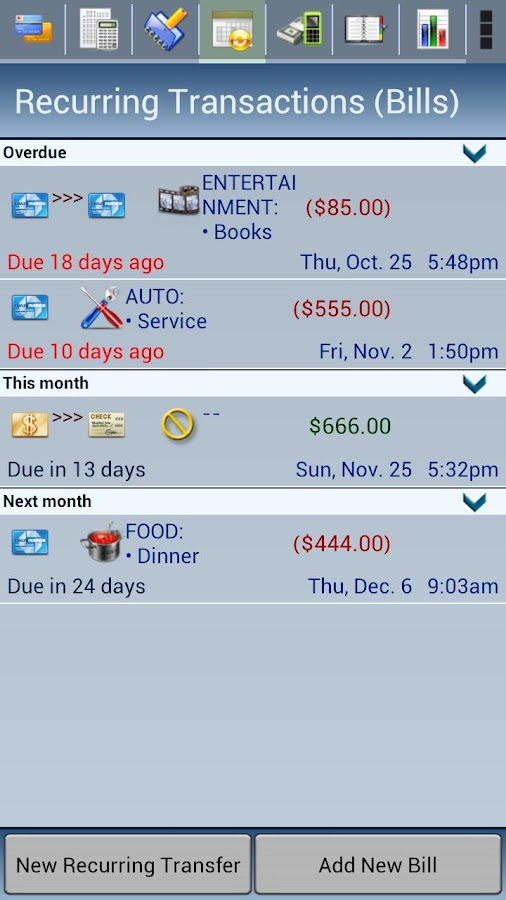 Spensa Lite. Expense Tracker - screenshot