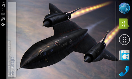 SR-71 Live Wallpaper