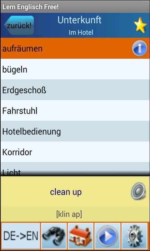 Englisch Lernen und Sprechen - screenshot
