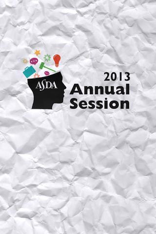 ASDA Annual Session 2013