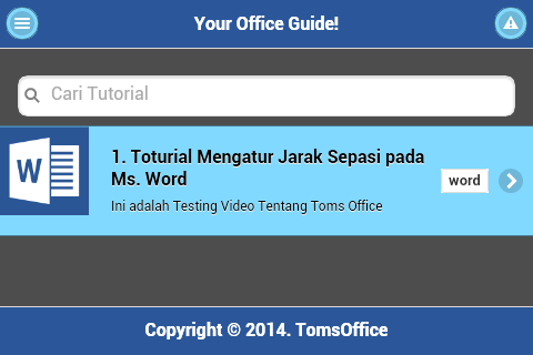 TomsOffice Tutorial Ms.Office