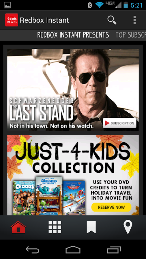 Redbox Instant by Verizon - screenshot