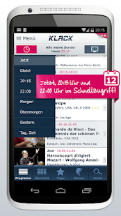 KLACK TV-Programm (Phone) - screenshot thumbnail