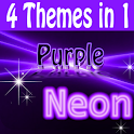 Purple Neon Complete 4 themes
