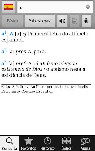 Michaelis Conciso Espanhol