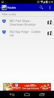 Screenshot of NYC MTA Brooklyn