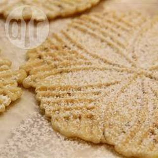 Italian Pizzelles Biscuits.