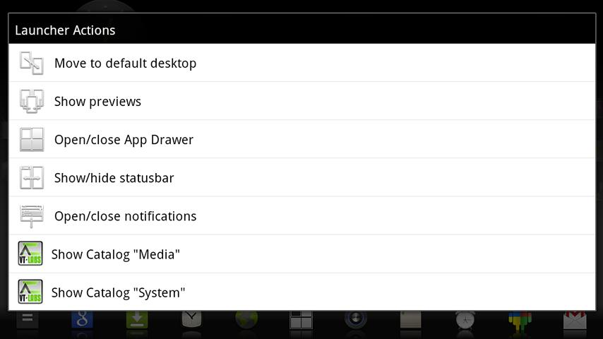 VTL.Launcher- screenshot
