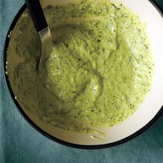 Pesto-Yogurt Sauce