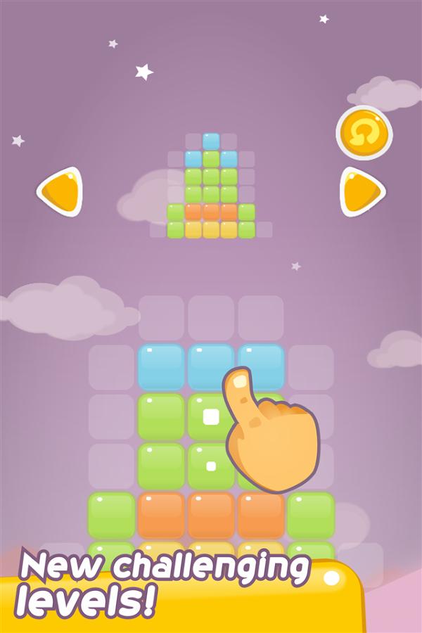 Color Path, Slide Block Puzzle - screenshot