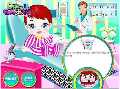 游戏中宝宝的医生,牙医 休閒 App-愛順發玩APP