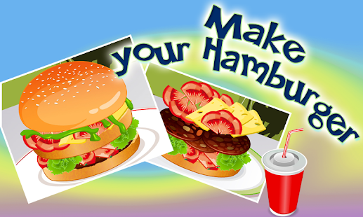 Cooking Hamburger Kitchen Game