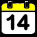 음력표시 달력 logo