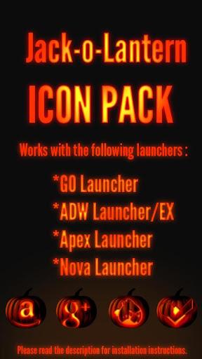 Jack-o-Lantern - Icon Pack