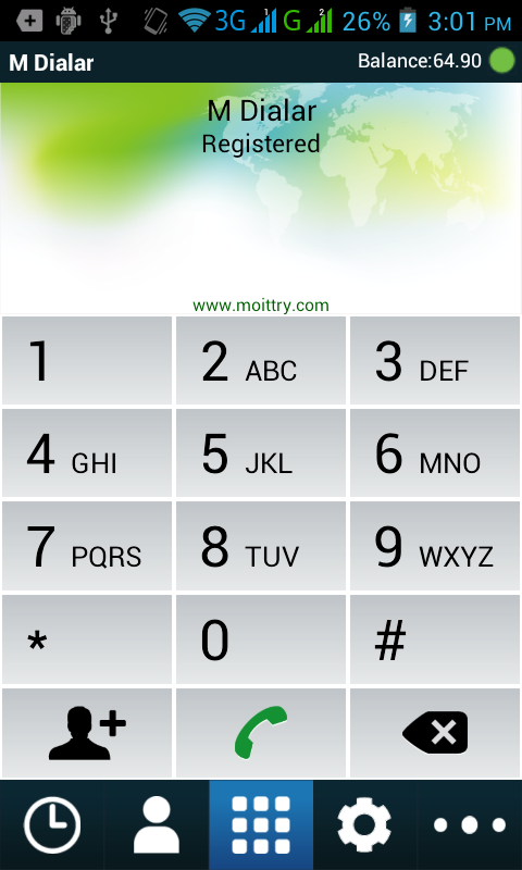 M Dialer-dxb- screenshot