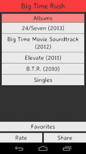 Big Time Rush Lyrics screenshot