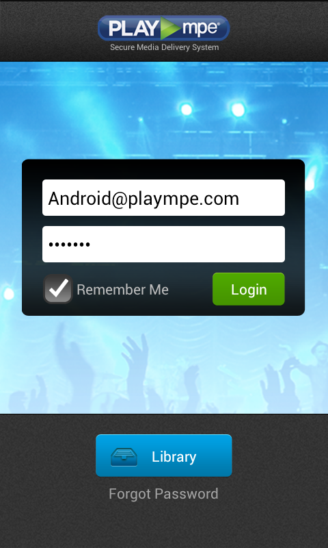 Play MPE® Player - screenshot