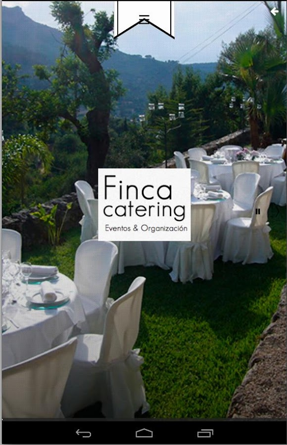 Finca Catering- screenshot
