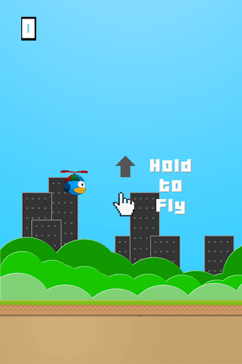 Flappy Helicopter bird
