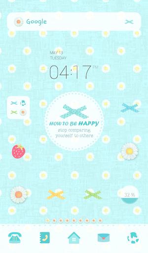 how to be happy 도돌런처 테마