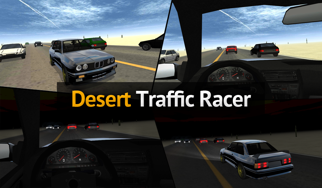 Desert Traffic Racer- screenshot
