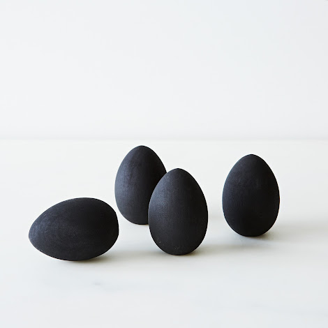 Chalkboard Egg Place Cards (Set of 4)