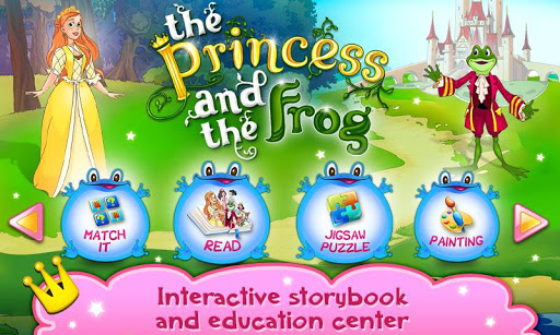 Princess Frog book for kids