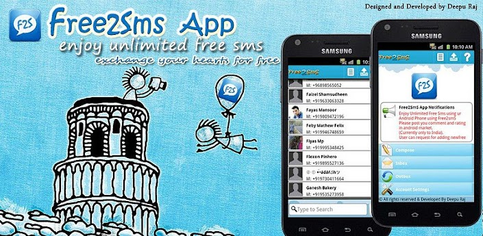 F2S Free SMS India 3.4 Apk Full Version Download Latest-i-ANDROID