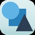 Circle Square Triangle icon