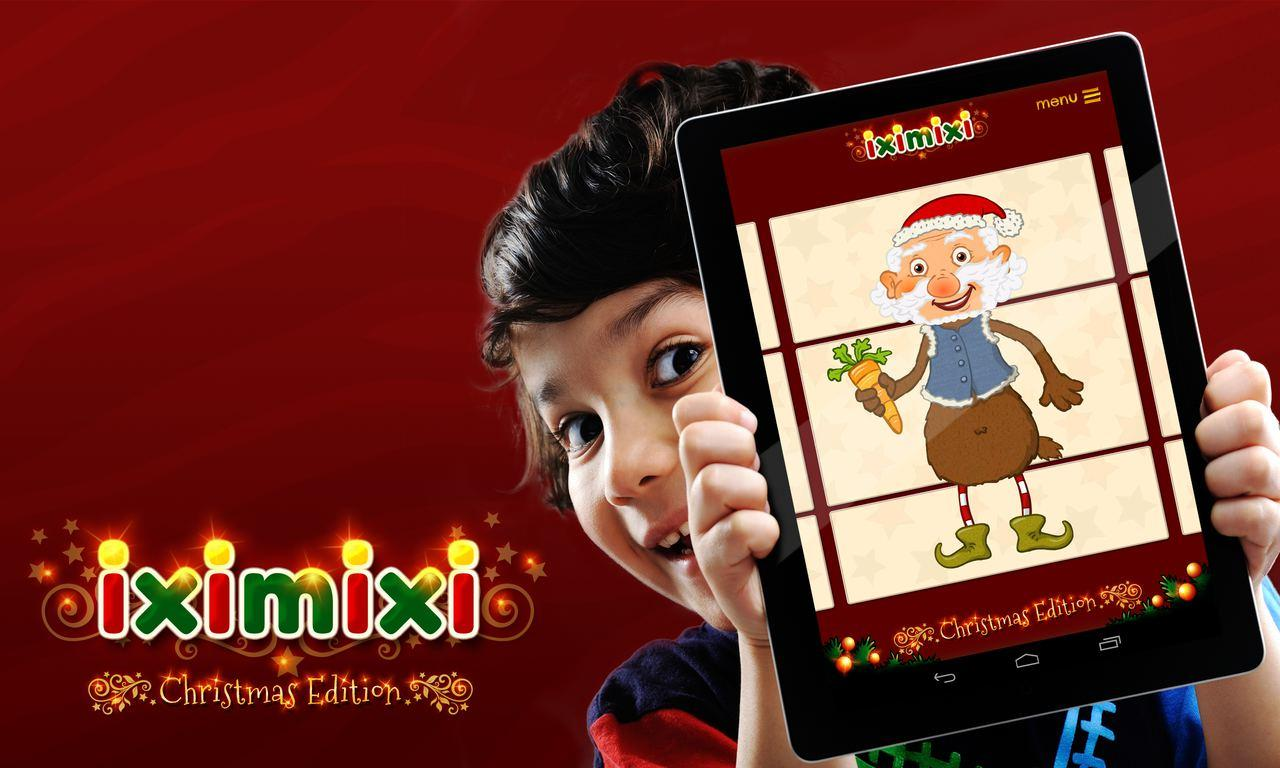 Iximixi Christmas Puzzle- screenshot