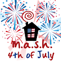 MASH 4th of July logo