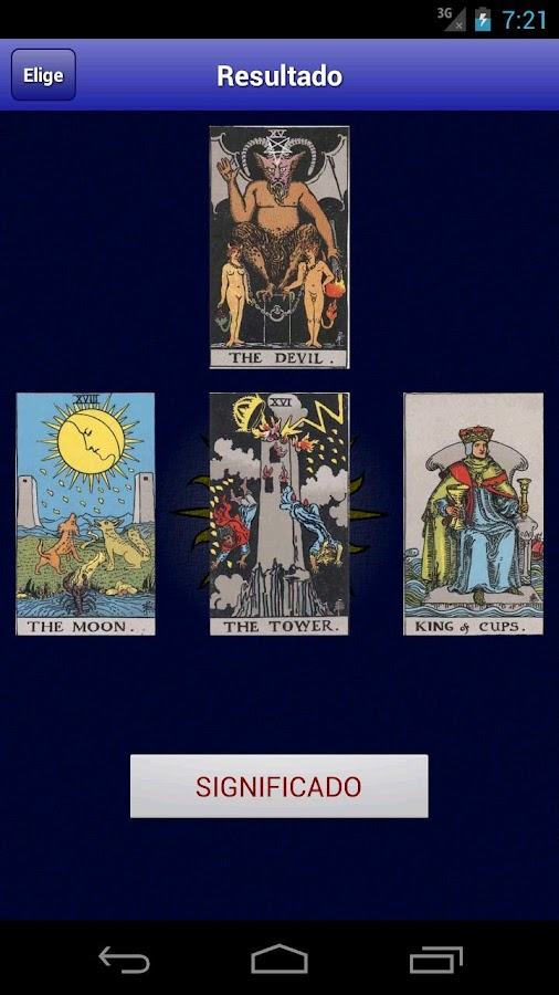 Tarot Gratis - screenshot
