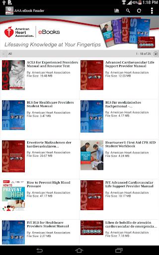 玩免費醫療APP|下載AHA eBooks app不用錢|硬是要APP