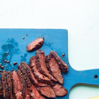 Coriander-Crusted Hanger Steak