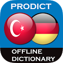 Turkish German dictionary icon