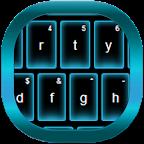 Blue Neon GO Keyboard