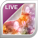 Magic Flowers Live Wallpaper icon
