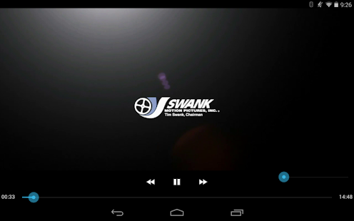 Swank Media Player- screenshot thumbnail