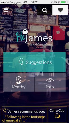 HiJames - Parisian Activities