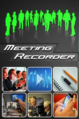 Meeting Recorder - screenshot