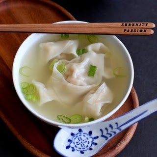 Shrimp & Pork Wonton Soup.