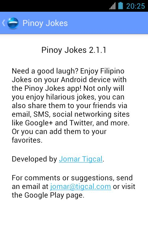 Pinoy Jokes - screenshot