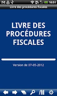 French Book of Tax Procedures- screenshot thumbnail