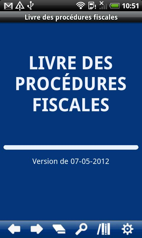 French Book of Tax Procedures- screenshot