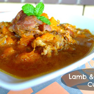 Slow Cooker Lamb and Pumpkin Curry Recipe