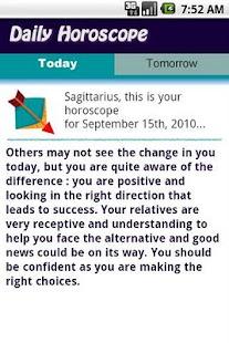 Sagittarius Daily Horoscope- screenshot thumbnail
