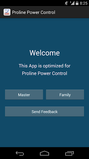 Proline Power Control English