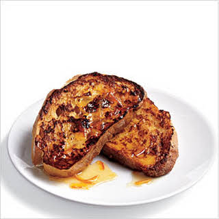 Ciabatta French Toast with Marmalade Drizzle.