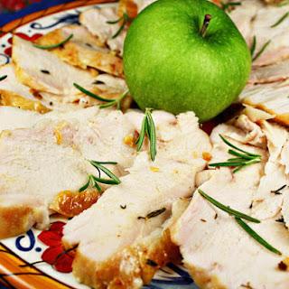 Oven-Roasted Turkey Breast with Pan Gravy